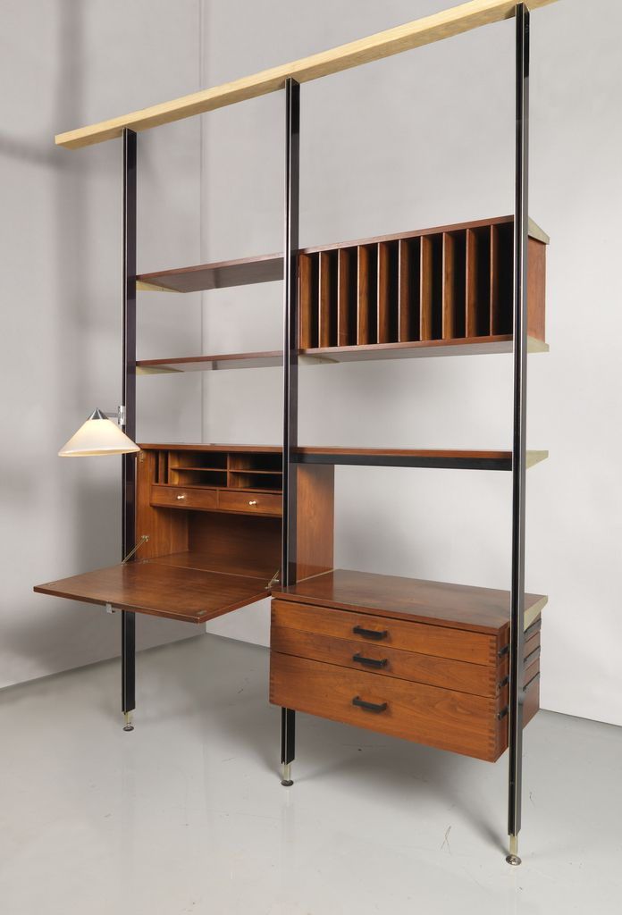 Wall Unit Comprehensive Storage System CSS ca 1960
