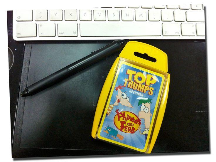 Phineas und Ferb sind da! #toptrumps #phineas #ferb