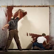✂ | Rothko working on his Seagram paintings