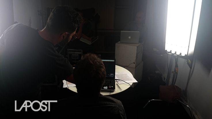 Foto fija #HangoutsPublicitarios con la gente de la publicidad interactiva, @redactoresp y Conferencias Publicitarias.  www.lapost.tv