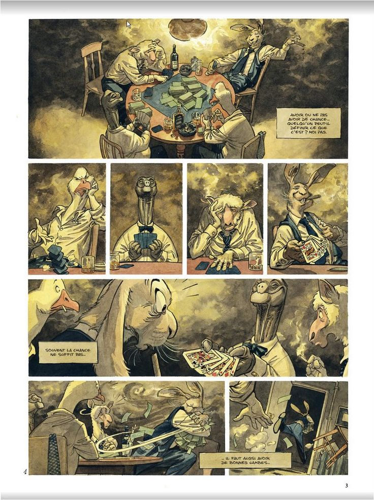 Blacksad: Âme Rouge Preview