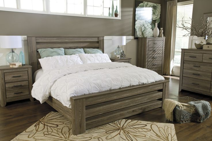 Master Bedroom Ideas Zelen Queen Poster Bed By Signature Designs At Kensington Furniture I