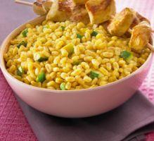 Recette - Ebly au curry et au coco - Notée 4.7/5 par les internautes