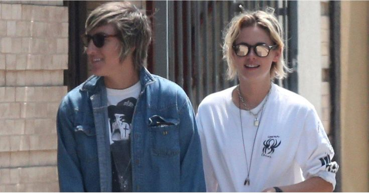 Kristen Stewart and Alicia Cargile Hold Hands While Running Errands in La