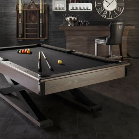 Hendrix Pool Table From Z Gallerie Affordable Modern Furniture