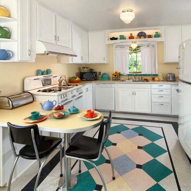 1940s cottage kitchen