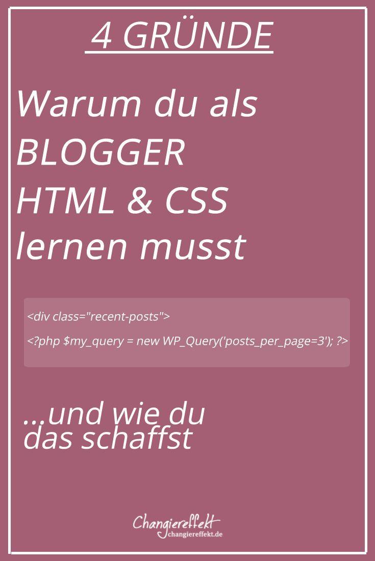 #Blogger sollten sich auch im Design ein wenig auskennen. Warum HTML & CSS auch für dich als Nicht-Webdesigner nützlich sind, liest du hier.