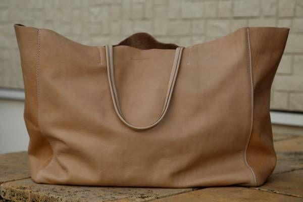 Bag Cantara国産ヌメ革レザートートバッグ ハンドメイド鞄セリーヌ78 インテリア 雑貨 Handmade ¥3100yen 〆08月25日
