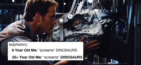 Everything Will Be Alright | lindseymorqan: jurassic world + text posts