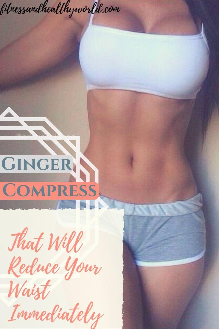 #ginger #compress #health #weightloss #waist #fitness