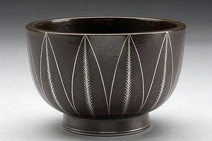 Brown Argenta Bowl