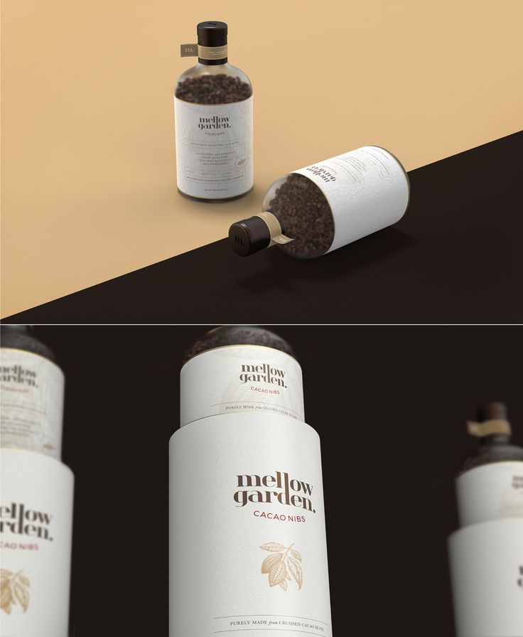 Kingsmen  l  BX Lab. / MELLOW GARDEN / kingsmenbxlab.com _cacao / branding / package / logo