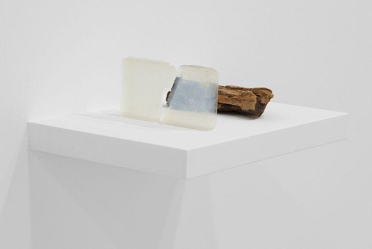 Nina Canell, Waiting for a spark, 2010 Coagulated air, petrified wood 40 x 25 x 20cm