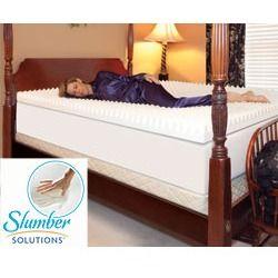 Solutions Highloft Supreme 2 Inch Memory Foam Mattress