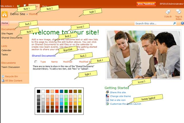 how to create really cool sharepoint 2010 page tips