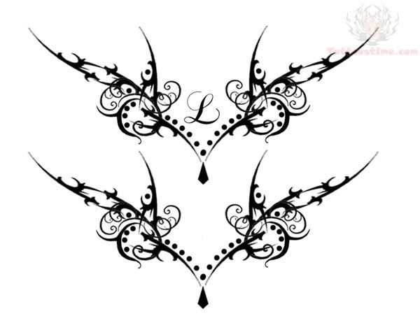 Lower Back Tattoo | forums: [url=http://www.tattoostime.com/gothic-vamp-lower-back-tattoo ...