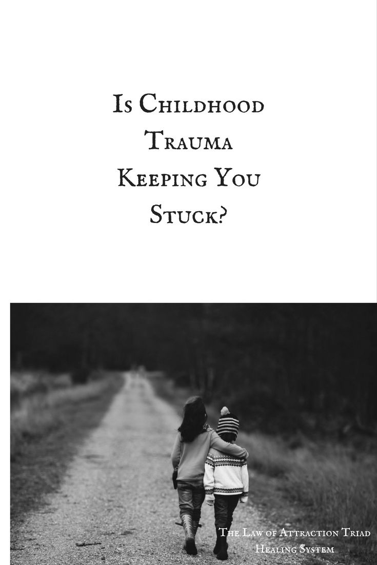 Are you feeding energy to childhood trauma that needs to be let go of?