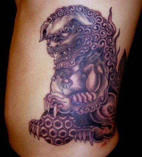 70 best foo dogs images on pinterest foo dog dog tattoos and japanese art. Black Bedroom Furniture Sets. Home Design Ideas