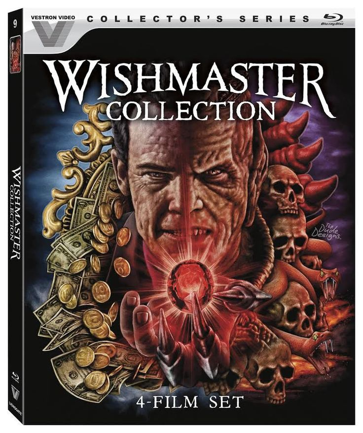WISHMASTER COLLECTION (1997-2002) Blu-ray