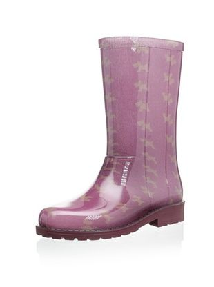 58% OFF igor Kid's Campera Perros Rain Boot (Burdeos)