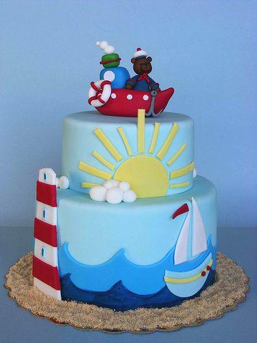Marine cake | Честит 1-ви рожден ден, Мони! Историята на bub… | Flickr