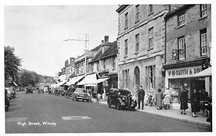 Witney, High Street Vintage Cars Auto Voitures Bicycles   eBay