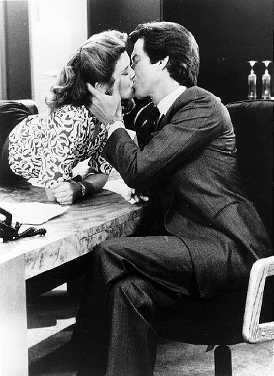 Remington Steele and Laura Holt