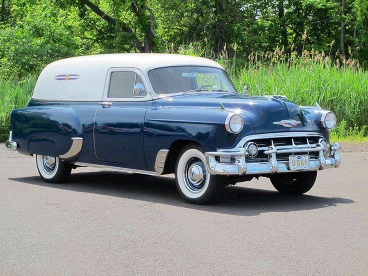 1953 Chevrolet Sedan Delivery...beautiful....
