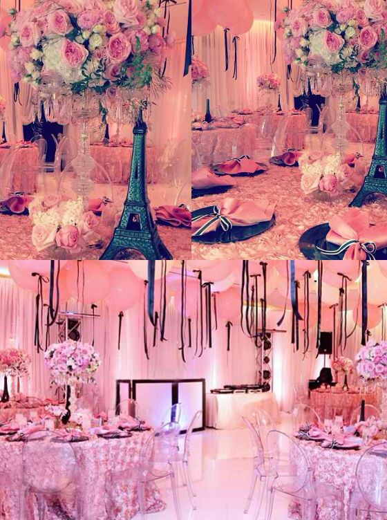 Paris Theme Engagement Party   In 2019
