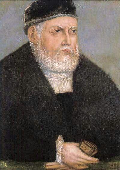 Sigismund I.''Old''Jagiellon 1555-school of Lucas Cranach jr.-ad.Histmag.org-Sigismund II.August+ his mother Bona Sforza