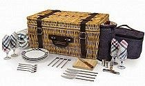 Product Highlight: Carnaby Street Wine Picnic Basket + 2 more fun wine extras perfect for wine picnics...all found at abitofwine.com
