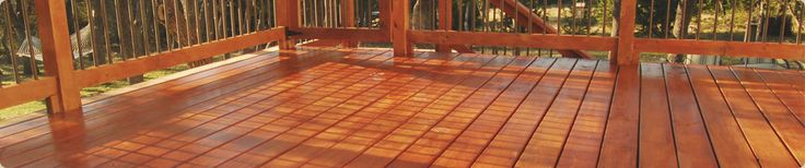 EcoDeck Thermally Modified Wood Deck, Dock & Railing System | EcoVantage Wood