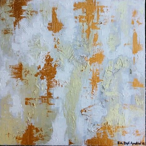 ETHEREAL - 60x60 cm - acrylic on canvas - 2015 by EvasioniCreative #modern #contemporary #abstract #art