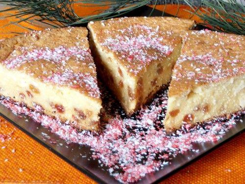 Mazsolás túrós süti piskóta nélkül! Vaníliás, lágy finomság, remek édesség!! - Ketkes.com