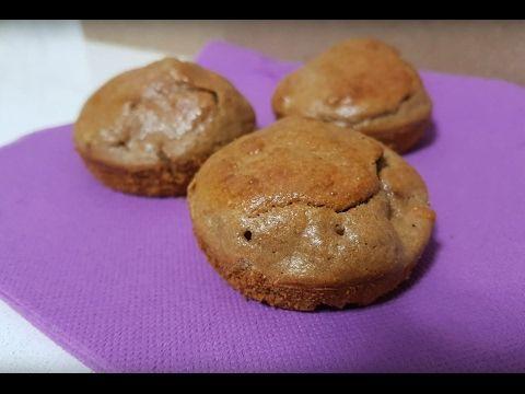 Brownies de harina de avena y proteínas