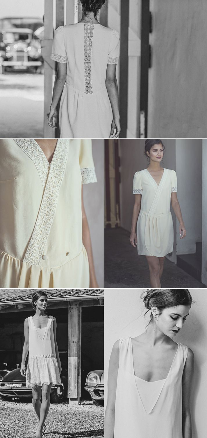 ©Laure de Sagazan - robes de mariee - collection civil 2014 - mariage- Le blog de Madame c #2