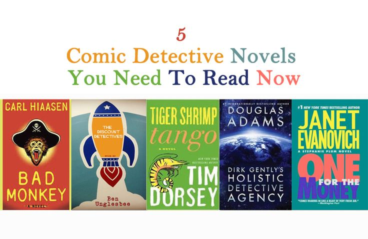 5 Comic Detective Novels You Need To Read Now