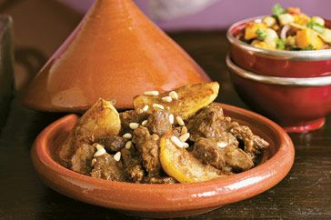 Invite your family and friends round for a Moroccan feast and serve them this delicious tagine. They're sure to be impressed!