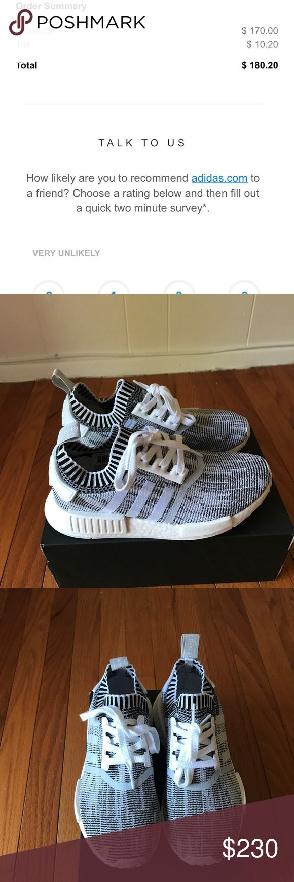 Adidas NMD R1 PK New in box size 5.5 in men which is 7 in women 100% authentic price is firm I will keep if it doesn't sell and no trades Adidas Shoes Athletic Shoes