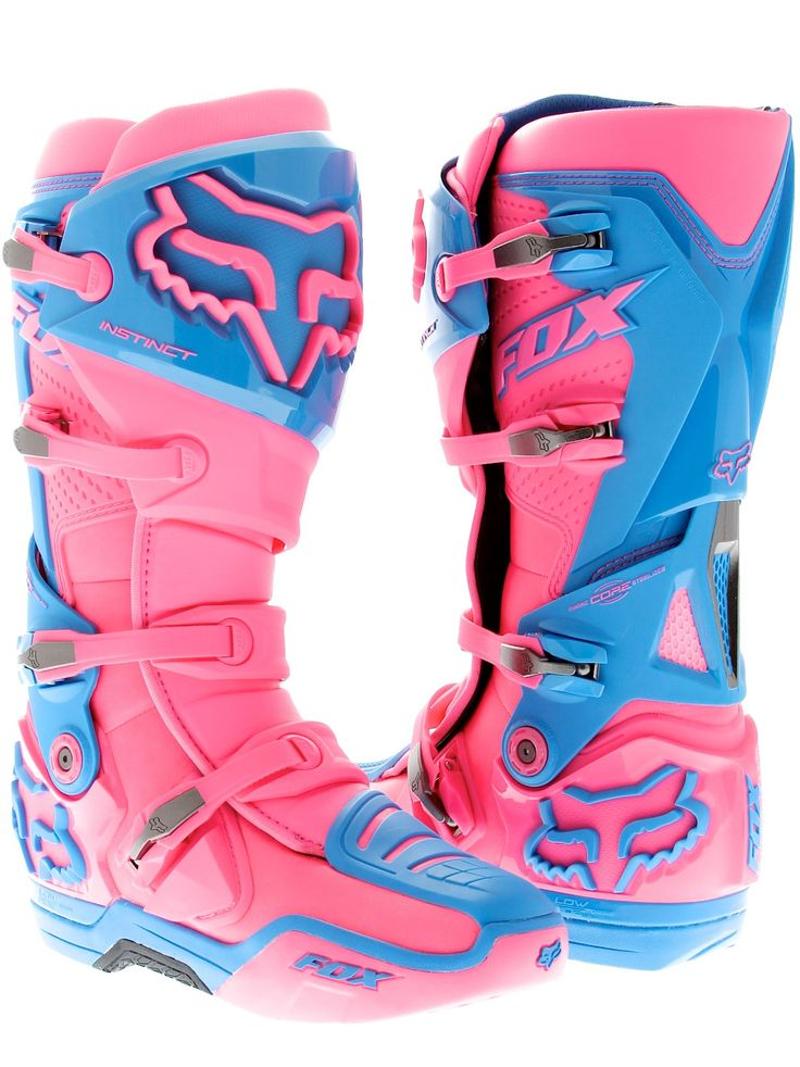 Fox Pink Image Atlanta Supercross Limited Edition Instinct MX Boot. I really want!!