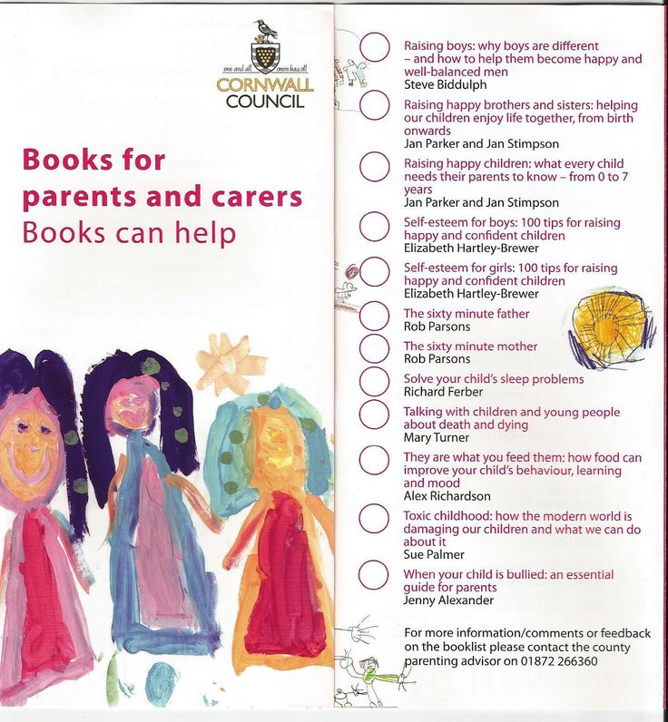 Featured in the Books to Help leaflet for parents and carers