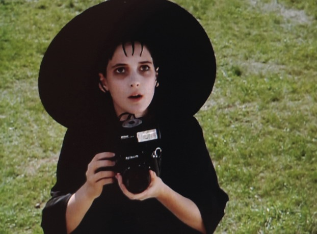 Lydia Deetz, inspirational to the goth movement.