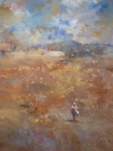 "Saatchi Art Artist Rachid Hanbali; Painting, ""COMING HOME"" #art"