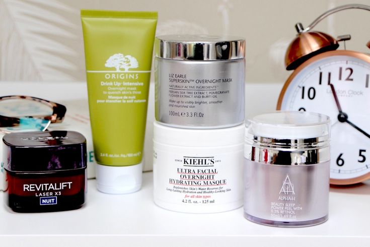 Five Brilliant Overnight Masks... | A Model Recommends