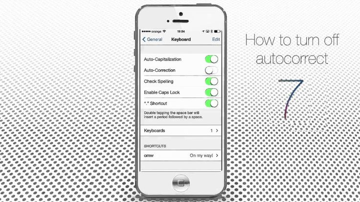 disable auto-correct or spell checker option in Mobile phones.