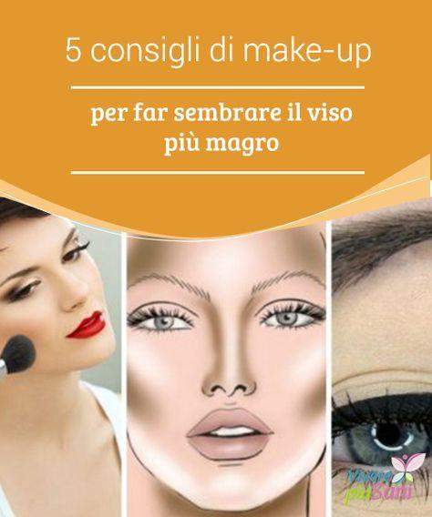 5 consigli di #make-up per far sembrare il viso più magro   Fare in modo che il viso appaia più magro e #stilizzato è possibile grazie ad alcuni #consigli di make-up; non è necessario essere #truccatori professionisti!