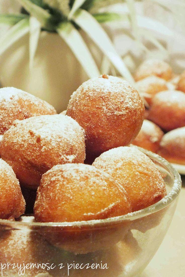 Przyjemność z pieczenia: Pączuszki na serku waniliowym