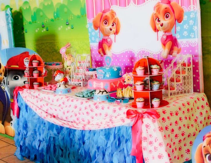 78 Best Images About Skye Paw Patrol Birthday Party Puppy