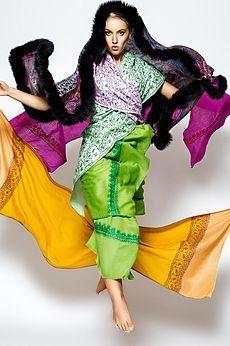 Exotic Kashmir Regal Scarves