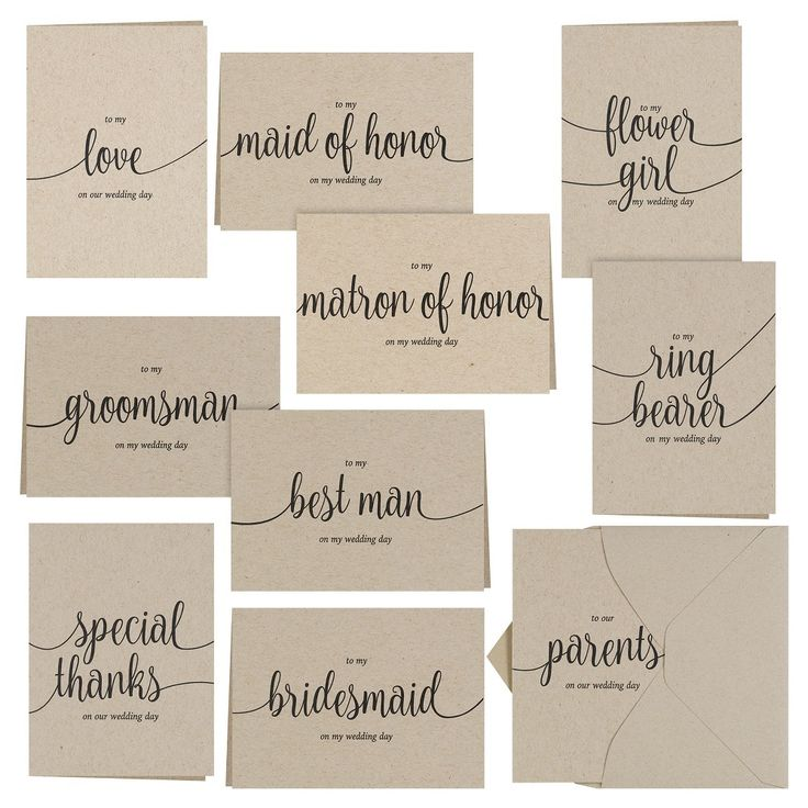Sable Brown Thank You Card Pack - 30 count